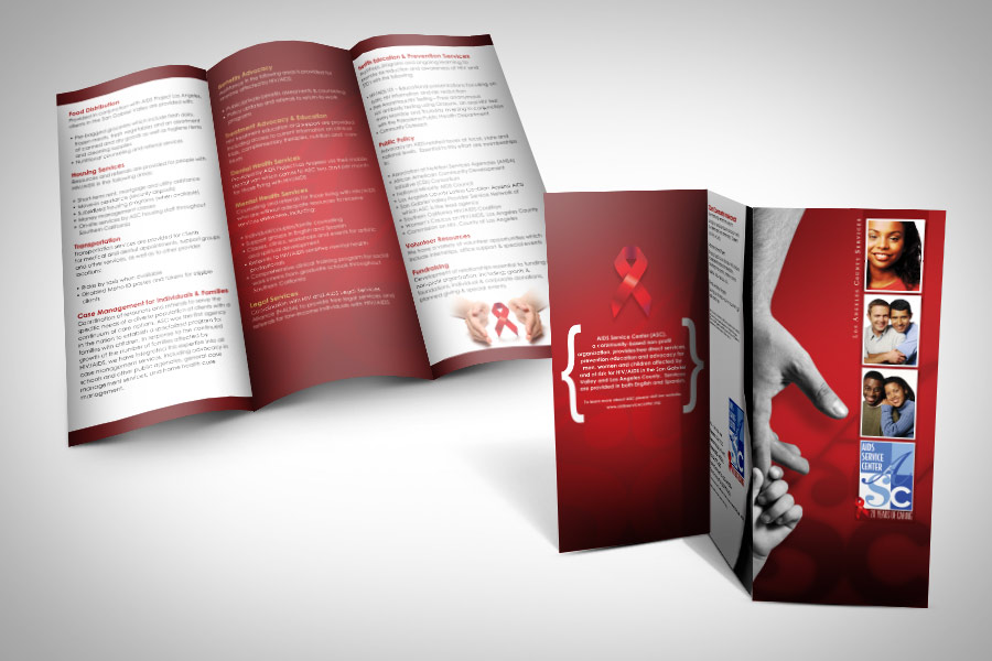 Brochure design in Pasadena, California | Graphic Design Pasadena ...