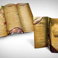 catering brochure design