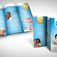 dental laboratory brochure design