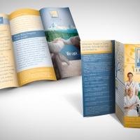 hospice brochure design