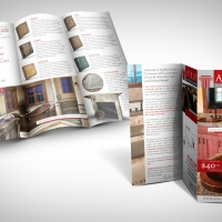 marble and granite brochure design