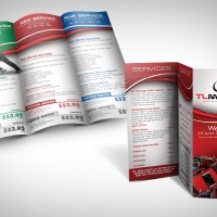 mechanic brochure design