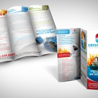 remediation and cleaner brochure design