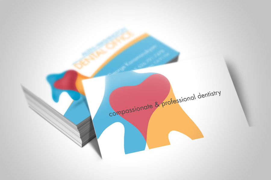 Business Cards Design Dentist Images - Card Design And Card Template