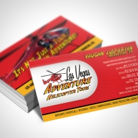 Helicopter Business Card Design