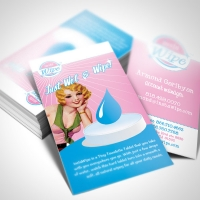 retail product Business Card Design