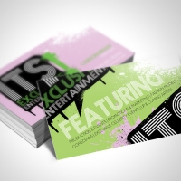 entertainment Business Card Design