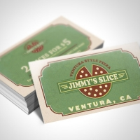 pizzeria Business Card Design