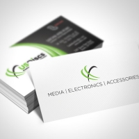 Technology Business Card Design