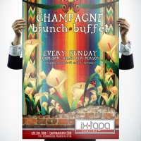 Ix Tapa Brunch Poster Design