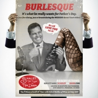 Scarlet Tea Room Burlesque Poster Design