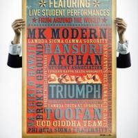 UC Davis Multicultural Festival Poster Design