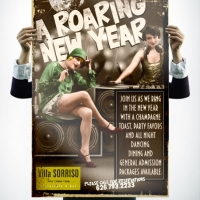 Villa Sorriso New Years Poster Design