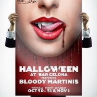 Bar Celona Halloween Poster Design