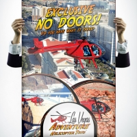 Adventure Helicopter Tours Poster Design