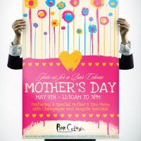 Bar Celona Mothers Day Brunch Poster Design