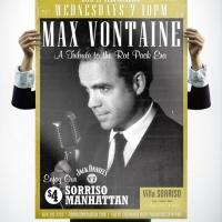 Villa Sorriso Max Vontaine Performer Poster Design