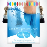 Pedicure Hygiene Poster Design
