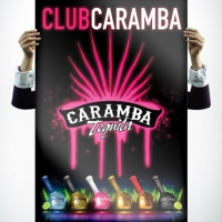 Caramba Tequila Sexy Poster Design