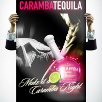 Caramba Tequila Sexy Poster Design