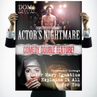 Doma Theatre Actors Nightmare Poster Design