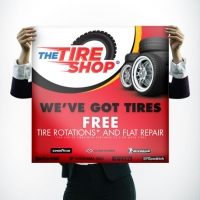 Tire Shop Poster Design