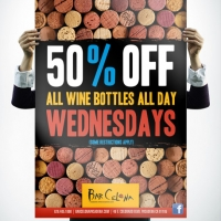 Bar Celona Wine Poster Design