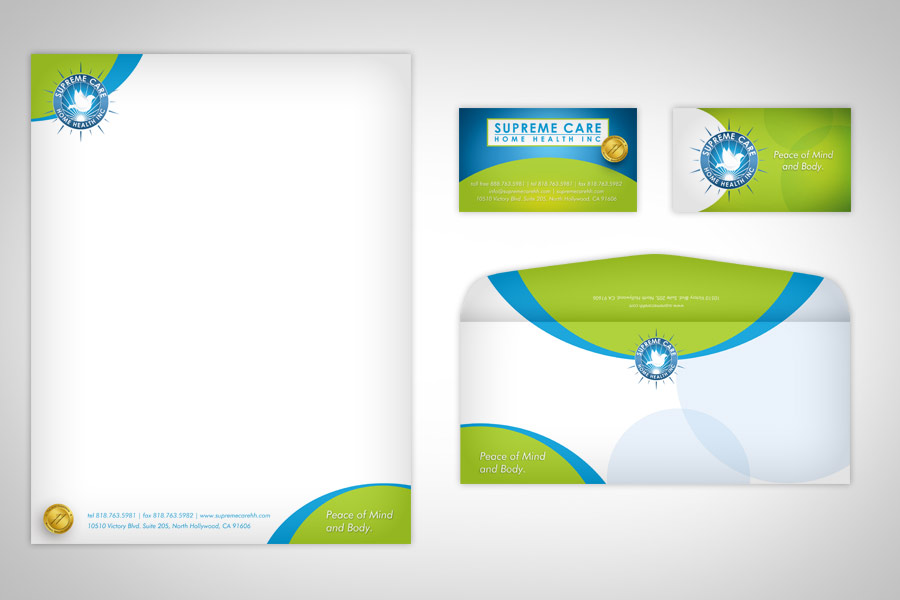 stationery or stationary design in pasadena california graphic