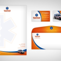 ambulance Business Card Design
