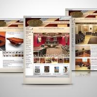Pharaoh Custom game Room website design