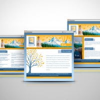 Lakeview Hospice website design