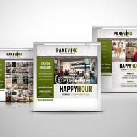 Panevino Italian Restaurant website design