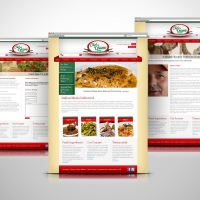 Chef Gianni Italian Food Delivery website design