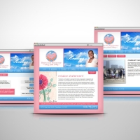 Robynn Joy Memorial website design