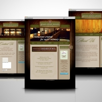 Green Street Tavern Restaurant website design