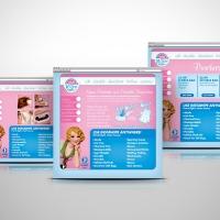 Insta Wipe Retail website design