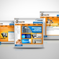 Technology website design