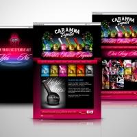 Caramba Tequila website design