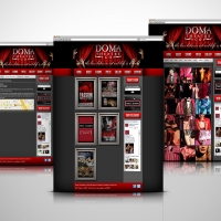 Doma Theatre website design