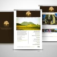 Campovida winery resort website design